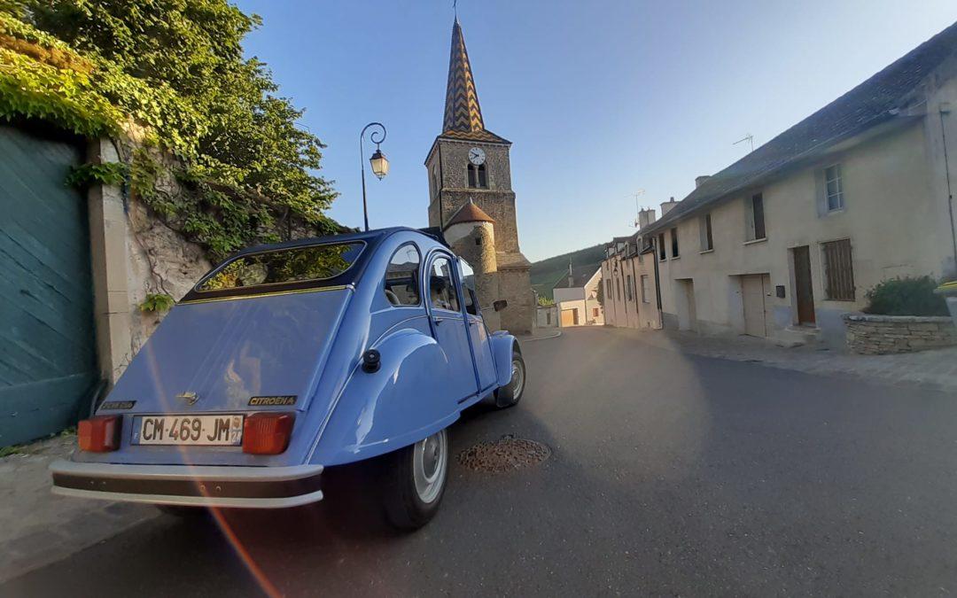 Visite insolite de la Bourgogne